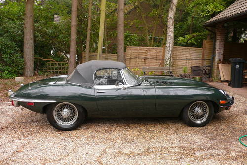 LHD 1969 Jaguar E Type 4.2L Roadster Manual Good Condition For Sale (picture 1 of 6)