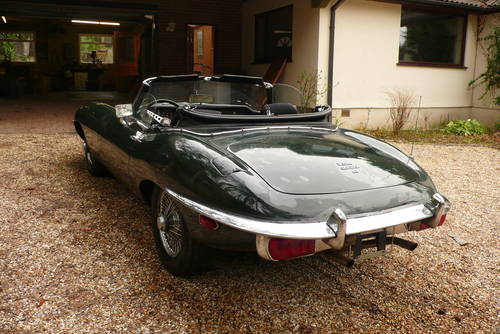LHD 1969 Jaguar E Type 4.2L Roadster Manual Good Condition For Sale (picture 4 of 6)
