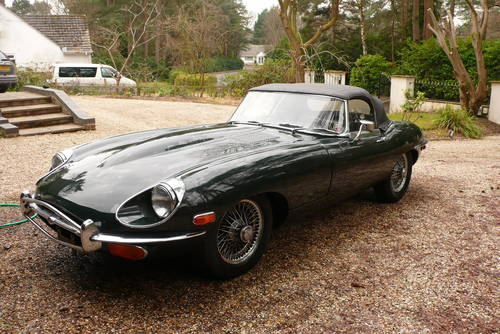 LHD 1969 Jaguar E Type 4.2L Roadster Manual Good Condition For Sale (picture 2 of 6)
