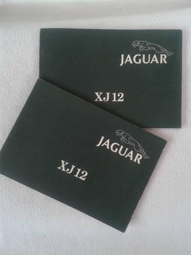 1970 Jaguar XJ12 series III saloon driver's handbook For Sale (picture 1 of 2)
