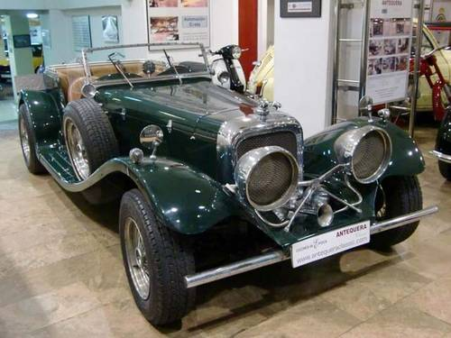 JAGUAR SS 100 - 1983 (REPLICA MODEL 1935) For Sale (picture 1 of 6)