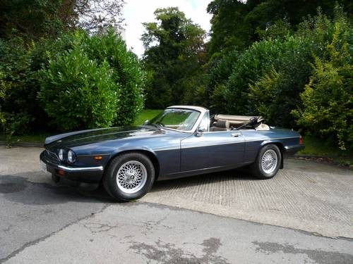 1976 Jaguar XJS 5.3 V12 Lynx Spyder - Four Seat Cabrio SOLD (picture 1 of 6)