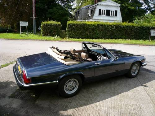 1976 Jaguar XJS 5.3 V12 Lynx Spyder - Four Seat Cabrio SOLD (picture 3 of 6)