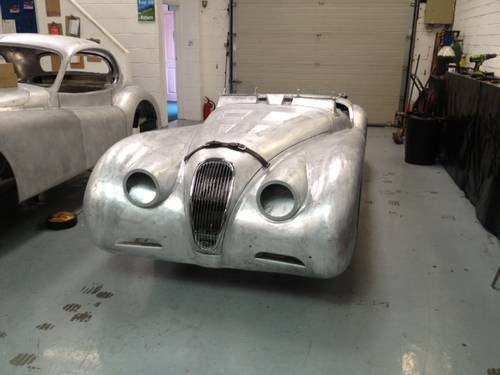 Aluminium bodied XK120 OTS For Sale (1952) For Sale (picture 1 of 3)