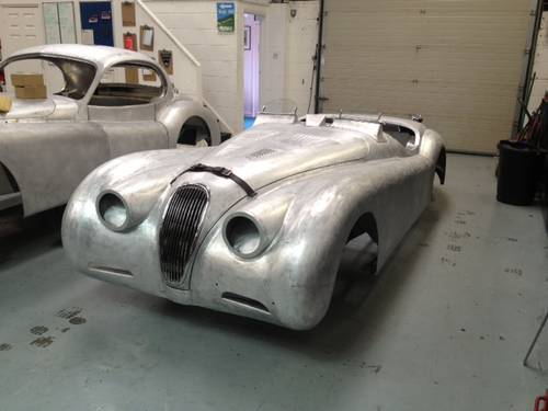 Aluminium bodied XK120 OTS For Sale (1952) For Sale (picture 2 of 3)
