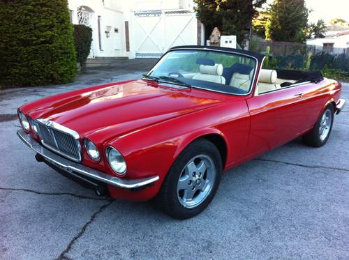 1977 Jaguar XJC lynx convertible Offers invited ! SOLD ...