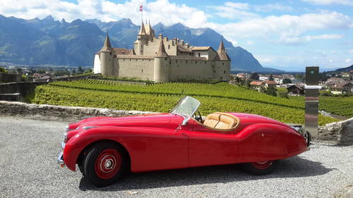 JAGUAR XK 120  OTS 1950 For Sale (picture 1 of 6)