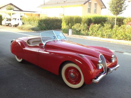 JAGUAR XK 120  OTS 1950 For Sale (picture 2 of 6)