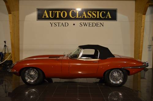 1965 Jaguar E-Type 4.2 Serie 1 Roadster For Sale (picture 1 of 6)