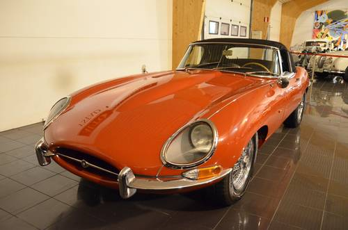 1965 Jaguar E-Type 4.2 Serie 1 Roadster For Sale (picture 2 of 6)