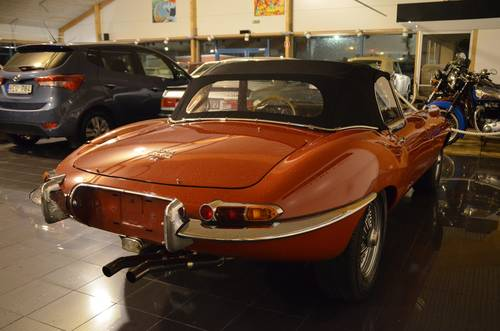 1965 Jaguar E-Type 4.2 Serie 1 Roadster For Sale (picture 4 of 6)