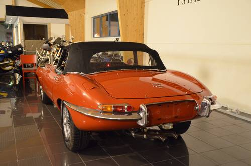 1965 Jaguar E-Type 4.2 Serie 1 Roadster For Sale (picture 5 of 6)