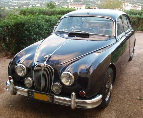 1963 Jaguar Mk2 3.8 auto w overdrive For Sale (picture 2 of 6)