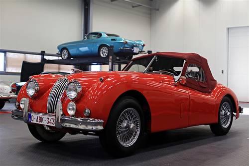 1955 Jaguar XK 140 roadster For Sale (picture 1 of 6)