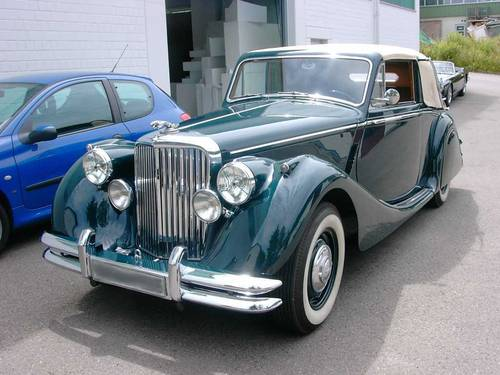 1951 Jaguar MK V Drophead DHC 3.5 Litre Concours For Sale (picture 2 of 6)