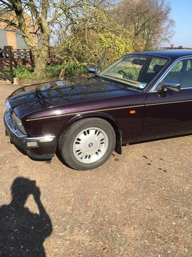 1996 Jaguar Daimler Majestic XJ40  LWB 4.0 very rare car! For Sale (picture 2 of 6)