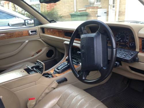 1996 Jaguar Daimler Majestic XJ40  LWB 4.0 very rare car! For Sale (picture 4 of 6)