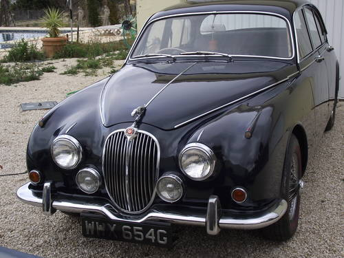 1968 Jaguar mk2 240 Saloon Manual with Overdrive model For Sale (picture 1 of 6)