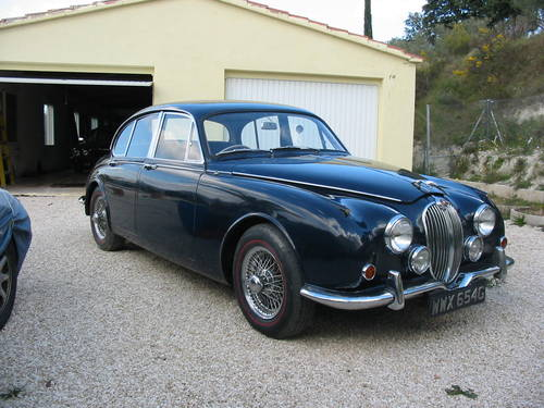 1968 Jaguar mk2 240 Saloon Manual with Overdrive model For Sale (picture 2 of 6)