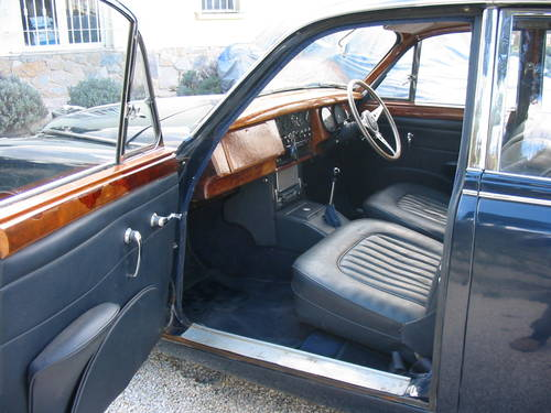 1968 Jaguar mk2 240 Saloon Manual with Overdrive model For Sale (picture 6 of 6)