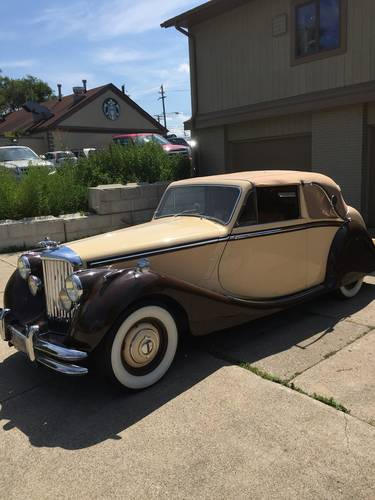 1950 Jaguar Mark V Coupe For Sale Car And Classic