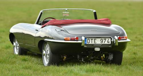 1962 E Type 3.8 Litre OTS Left Hand Drive For Sale (picture 4 of 6)