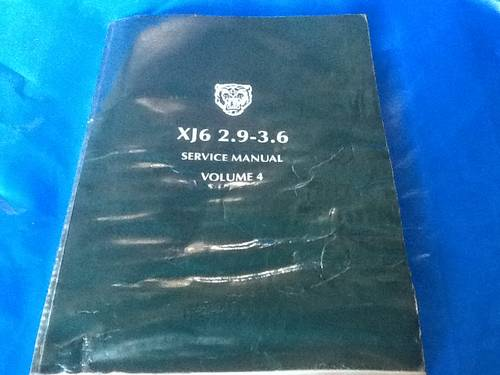 1990 Three Original Jaguar Workshop Manuals For Sale (picture 5 of 6)
