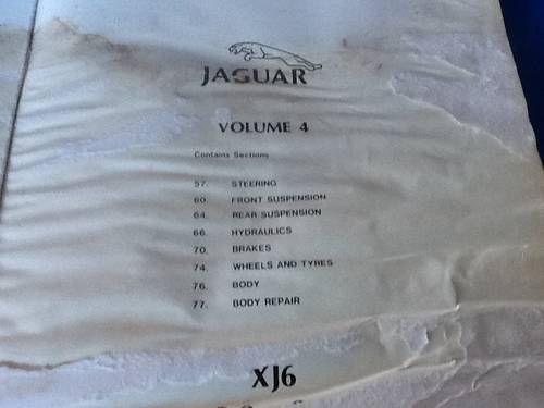 1990 Three Original Jaguar Workshop Manuals For Sale (picture 6 of 6)