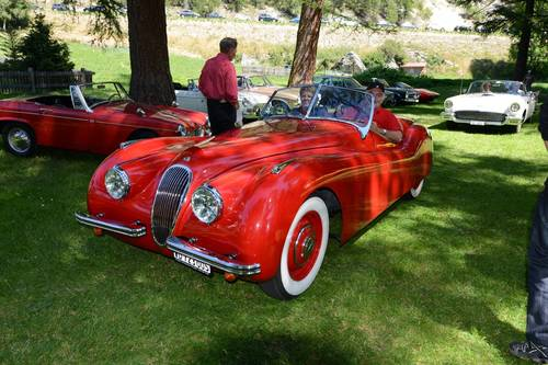 JAGUAR XK 120  OTS 1950 For Sale (picture 3 of 6)