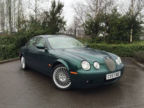 2007 (57) Jaguar S-TYPE 2.7D V6 auto XS IMMACULATE For Sale (picture 1 of 6)