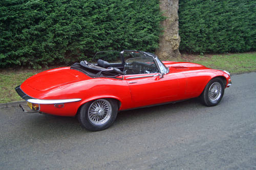 Jaguar E Type Hire Yorkshire | E Type Convertible Hire For Hire (picture 3 of 3)