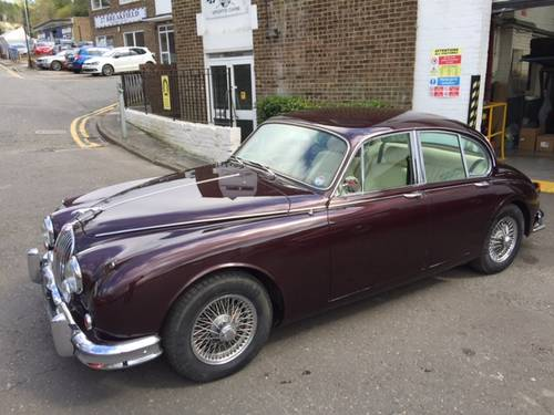 1963 Jaguar MK2 3.8 For Sale (picture 1 of 6)