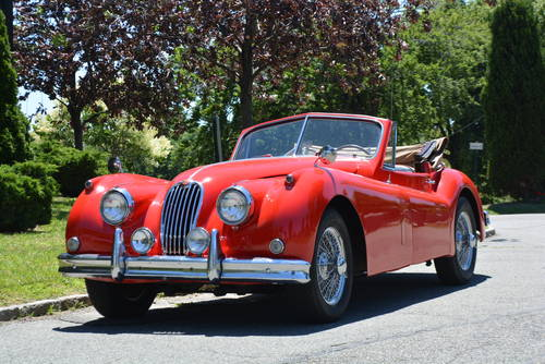 1957 Jaguar XK140 DHC For Sale (picture 1 of 5)