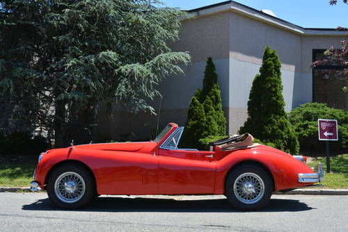 1957 Jaguar XK140 DHC For Sale (picture 3 of 5)