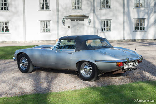 1973 Jaguar E-Type Series III V12 Roadster For Sale (picture 2 of 6)