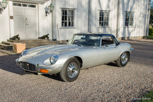1973 Jaguar E-Type Series III V12 Roadster For Sale (picture 3 of 6)