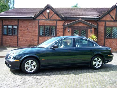 2000 JAGUAR S-TYPE V6 SE 90400 MILES NEW MOT 2019 NO ADVISORYS For Sale (picture 2 of 6)