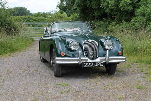 1960 Jaguar XK150 SE 3.4 Litre Drophead Coupe For Sale (picture 1 of 6)