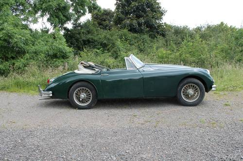 1960 Jaguar XK150 SE 3.4 Litre Drophead Coupe For Sale (picture 5 of 6)
