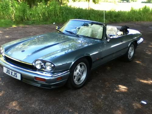 Jaguar XJS Convertible 4.0 1994 immaculate For Sale (picture 2 of 6)