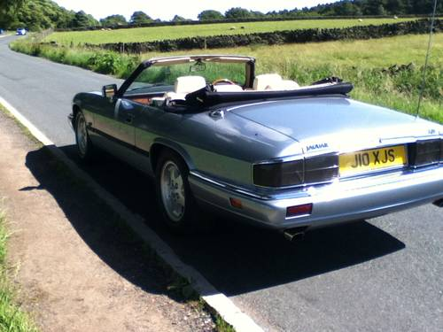 Jaguar XJS Convertible 4.0 1994 immaculate For Sale (picture 5 of 6)