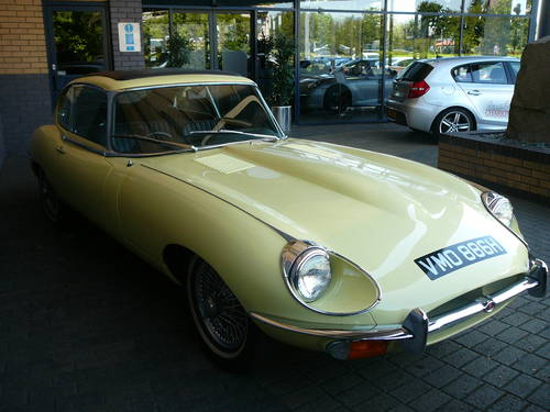 1969 Jaguar E Type Series 2 2+2 For Sale (picture 2 of 6)