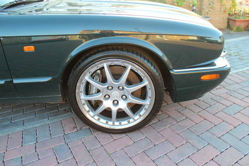 2002 Jaguar XJR V8 R1 Brembo  BBS - Selling complete for spares For Sale (picture 2 of 6)