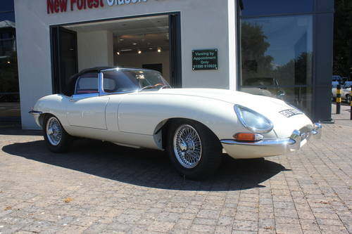 1964 Jaguar Series 1 E-Type 3.8 Roadster LHD SOLD (picture 1 of 5)