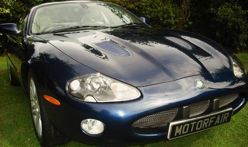 2003 JAGUAR XKR 4.2 COUPE,65,000 miles,SERVICE HISTORY,SAT/NAV For Sale (picture 1 of 6)