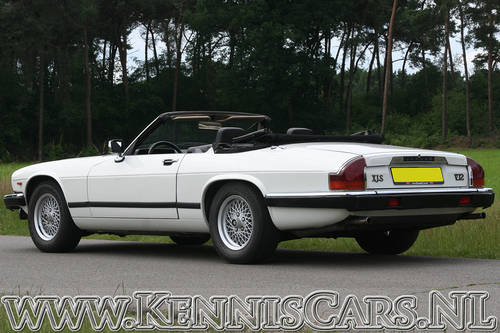 Jaguar 1989 XJS V12 5.3 Convertible For Sale (picture 5 of 6)