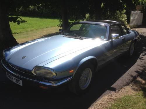 1986 Jaguar XJSC V12 Low Mileage For Sale (picture 1 of 5)