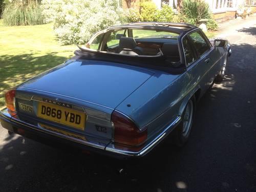 1986 Jaguar XJSC V12 Low Mileage For Sale (picture 3 of 5)