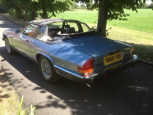 1986 Jaguar XJSC V12 Low Mileage For Sale (picture 4 of 5)