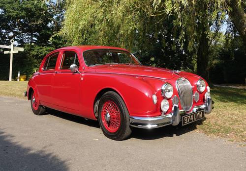 1958 Jaguar 3.4 Mk1 Saloon RHD For Sale (picture 1 of 6)
